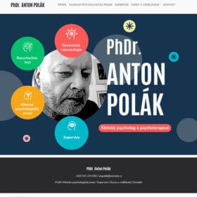 Klinický psycholog apsychoterapeut PhDr. Anton Polák